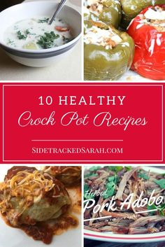 10 Healthy Crock Pot