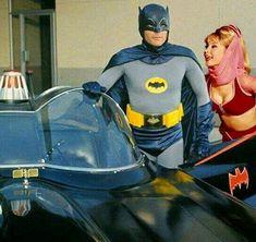 Batman and Jeannie? Batman Y Robin, Batman 1966, Batman And Superman, Batman Tv Show, Batman Tv Series, I Dream Of Jeannie, Batgirl, Catwoman, Dc Comics