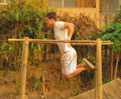 A Year in Thailand: The $50 Jungle Gym #DIY #Gym #NoExcuses #Fitness #Motivation