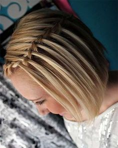 Braided bob styles