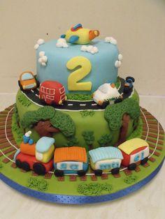 transport cake  Cake by cakesbyzoe