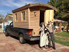 We travel and live inside 35 square feet of pure awesomeness