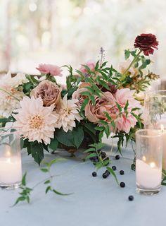 Floral Wedding Centerpieces Planning and Tips - Love It All Floral Centerpieces, Wedding Centerpieces, Wedding Table, Wedding Bouquets, Wedding Decorations, Garden Wedding, Centerpiece Ideas, Aisle Decorations, Tent Wedding