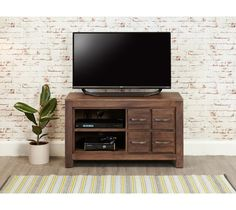 mayan walnut four drawer television cabinet style our home