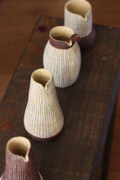 blueberry modern - ceramics by Otani Momoko - Japan - qupuqupu