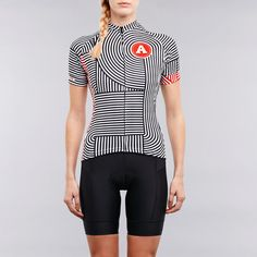 Twin six womens cycling jersey - artcrank