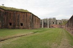 Fort Morgan — a Civil War-era fortress across the bay from Mobile.