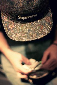 Not really my style but this Supreme hat is boss.