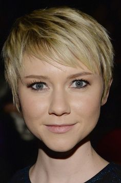 Valorie Curry Pixie - Short Hairstyles Lookbook - StyleBistro