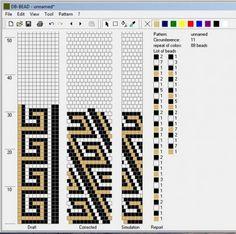 11 around tubular bead crochet rope pattern Bead Crochet Patterns, Bead Crochet Rope, Crochet Bracelet, Beaded Crochet, Loom Bracelet Patterns, Beaded Jewelry Patterns, Beading Patterns, Tear, Bead Jewelry