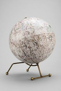 Magical Thinking Moon Globe - fun styling accessory