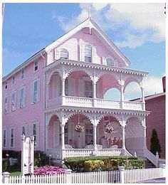pink houses - Google Search
