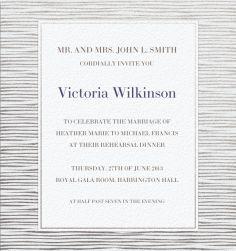 Whitneys Groupie - Wedding cards
