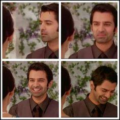 Khushi makes Arnav laugh :)