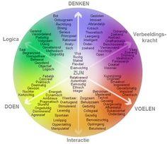 44 standaardcompetenties in het competentiemodel van Schouten en Nelissen