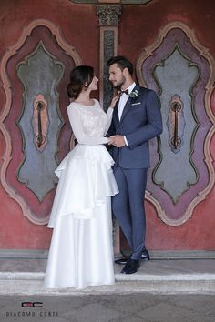 Stylizacja ślubna od Giacomo Conti: Wedding Suits, Wedding Dresses, Bright, Model, Fashion, Bride Dresses, Moda, Wedding Outfits, Bridal Gowns