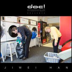 """doc! photo magazine presents: """"Launderette"""" by Jiwei Han, doc! #15, pp. 75-95"""