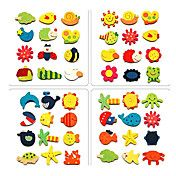 Mini Wooden Cartoon Magnet Early Childhood To... – USD $ 3.19