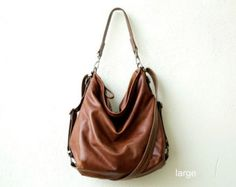 leather backpack purse HOBO PACK in soft by roughandtumblebags