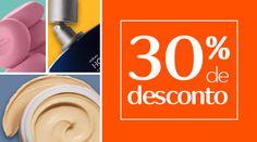 Cupom de Desconto - Compre Online na Rede Natura Ganhe 30% de desconto na sua primeira compra.  *Cupom válido até 11/09/16 ou até atingir 1.000 usos. Promoções e Presentes não fazem parte desta promoção. Aplicável apenas para 1ª compra.