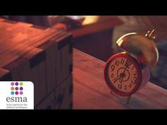 Clocky - ESMA 2015 - YouTube Superbe video. Très mignonne et très  réaliste