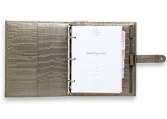 2015 Personal Portfolio Crocodile | The Day Planner for Mom | momAgenda $125.00///// DAMNIT///// of course i find the PERFECT planner and ots one hundred dollars