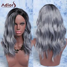 SHARE & Get it FREE | Adiors Mixed Color Fluffy Medium Wave Centre Parting Synthetic WigFor Fashion Lovers only:80,000+ Items·FREE SHIPPING Join Dresslily: Get YOUR $50 NOW!