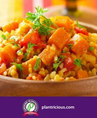 Pumpkin Turmeric Bowl: This hearty meal is packed with fiber and delicious flavors! New Recipes, Whole Food Recipes, Hearty Meal, Food Categories, Plant Based Recipes, The Fresh, Turmeric, Vegan Gluten Free, A Food