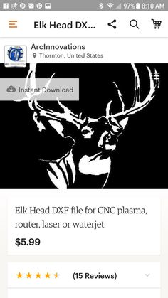 DXF files for sale. Etsy.com Arc Innovations store.