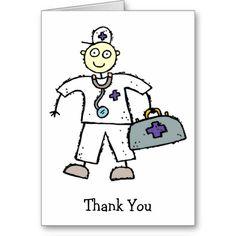 EMT Paramedic Ambulance Tech Thank You Cards
