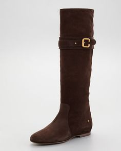 Want! Suede Paddington Boot by Chloe at Neiman Marcus.