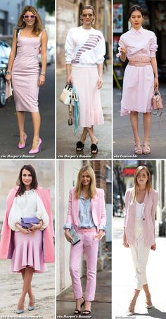 Inspiration: 6x Light Pink