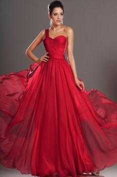 fotos de vestidos de formatura vermelhos
