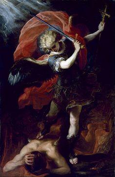 Claudio Coello - Saint Michael the Archangel -