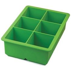 Tovolo King Cube Silicone Ice Cube Tray... Perfect for iced coffee cubes.