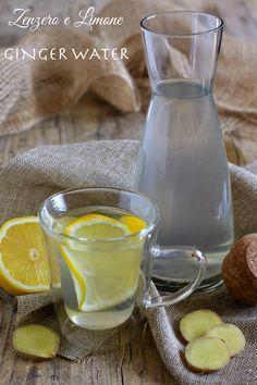 GINGER WATER: acqua allo zenzero Per dare una scossa al metabolismo.