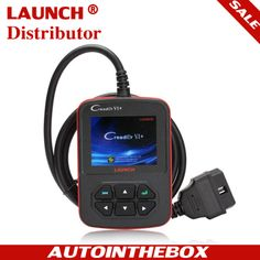 AUTO OBDII / EOBD Code Reader Launch Creader VI+ 100% Original + Free Online Update CReader 6 plus   $92.00  http://www.autointhebox.com/original-launch-creader-vi-obdii-eobd-automotive-code-reader-scanner_p7.html applied color LCD,M user-friendly function menu design, supporting full functions of OBDII& EOBD vehicle and basic diagnostic functions of eight Japanese brands JOBD vehicles   Email: service@autointhebox.com  #obd2
