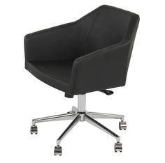 The Mercer Office Chair by B&T Design brings high quality injection molded seating with a handsome design aesthetic and supreme...
