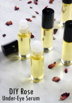 DIY Rose UnderEye Serum Soap Queen is part of Diy eye cream - Make your own luxurious undereye serum with rosehip seed oil, primrose extract, jojoba oil and vitamin e oil It instantly hydrates the undereye area Homemade Skin Care, Homemade Beauty Products, Diy Skin Care, Homemade Face Wash, Homemade Eye Cream, Beauty Care, Beauty Skin, Beauty Hacks, Diy Beauty Tips