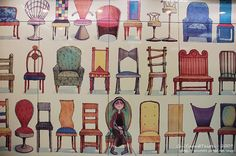 台北南港捷運站 - 幾米地下鐵 Sofas, Objects, Chairs, Kids Rugs, Illustrations, Mini, Furniture, Home Decor, Couches