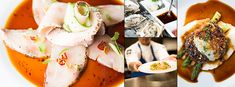 More than a restaurant, Oyster Loft is an experience, where excellent service rivals the taste and aesthetics of presentation. The upscale Manhattan Restaurants, California Restaurants, City Restaurants, Fish Dishes, Seafood Dishes, Apple Crumb Cakes, Shucking Oysters, Sweet Potato Tacos, Bagel Sandwich