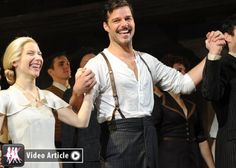 Ricky Martin Makes His 'Evita' Broadway Debut