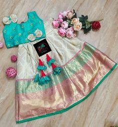 Baby Girl Dresses Diy, Girls Denim Dress, Kids Dress Wear, Kids Gown, Baby Dress, Indian Dresses For Kids, Kids Indian Wear, Baby Girl Fashion, Kids Fashion