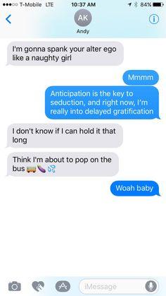 Seduction sms messages
