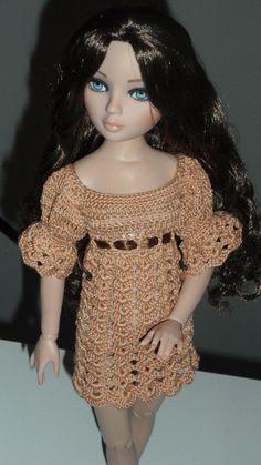 Ellowyne's Bell Sleeved Dress Crochet Pattern also by Livingwater
