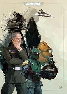 Star Wars Vector Posters - Created by SilenceCorpYou can find more of his work on FacebookandTwitter.