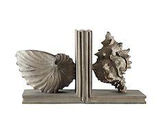 Держатель для книг - полирезина - серый, 15х10х18 см
