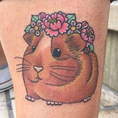 9 Gorgeous Guinea Pig Tattoos