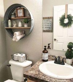36 Beautiful Farmhouse Bathroom Design and Decor Ideas You Will Go Crazy For Stunning Modern Farmhouse Bathroom Decor Ideas 30 Modern Farmhouse Bathroom, Modern Bathroom Decor, Farm House Bathroom Decor, Modern Decor, Bathroom Designs, Bathrooms Decor, Industrial Bathroom, Rustic Bathrooms, Interior Modern