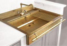 Brass Sink by Restart